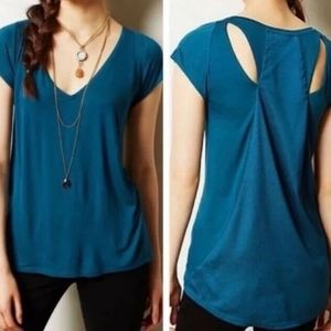 Deletta By Anthropologie Shimmerwing Top
